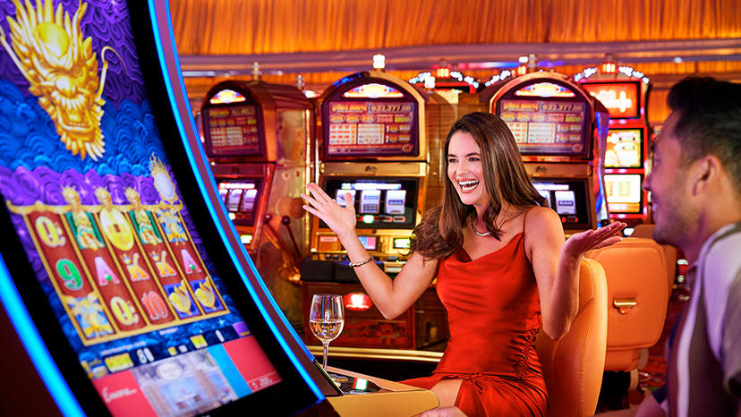Wynn Las Vegas Slots Couple