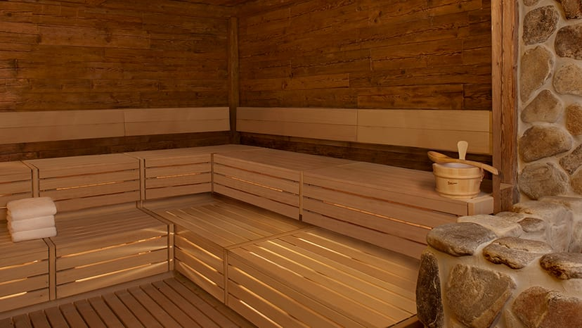 The Spa at Encore Sauna